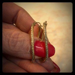 14k gold earrings 🌹🌹🌹